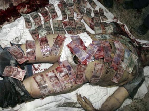 """Mexico drug cartelthis is what """"Blood Money"""" looks"""