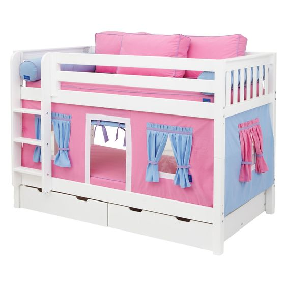 Have to have it hot shot girl twin over twin tent bunk Twin bed tent ikea