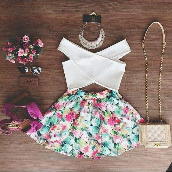 """Chicas, ¿qué tal este outfit?  #cuentaideal"""