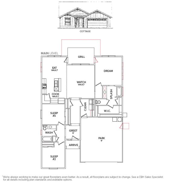 Floor plan capri starting 125 990 our new home for Capri floor plan
