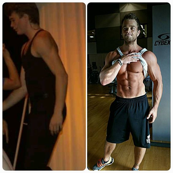 before after bodybuilding