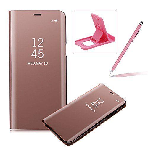 Coque Iphone 8 Plus 7 Plus Clapet Herzzer Housse Etui En Pu Cuir Luxe Placage Technologie Avec Transparente Miroir Des En 2020 Coque Iphone Iphone 8 Plus Iphone 7 Plus