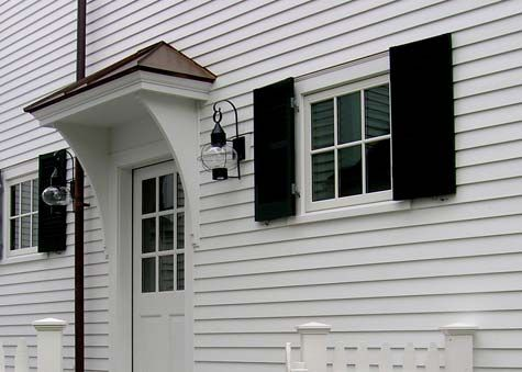 Side door overhang small house ideas pinterest for Side doors for houses