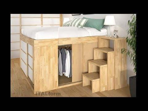 Incredible Space Saving Furniture Great Ideas For Small Rooms Youtube Space Saving Bedroom Cozy Bedroom Design Remodel Bedroom