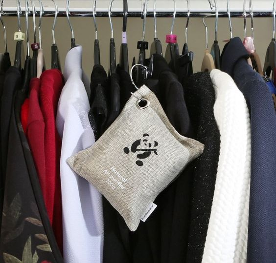 Best ways to deodorize a closet naturally. These brilliant bamboo room deodorizers eliminate odors, mold and mildew!
