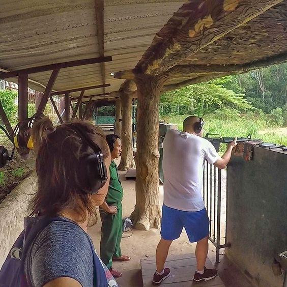 A real piece of history shooting an M16 with bullets that were left behind by the US after he Vietnam war  #history #m16 #GoPro . . . . #goprohero4 #backpacker #backpackerlife #travelgoals #goprooftheday #photooftheday #wanderlust #travel #globetrotter #digitalnomad #getbackpacking #hero_adventure #goprowill #gopropointofview #travellers_experience #goproeracademy #herobyhero #goprotravelsz #goprostyles #go_herolife #GoWorldWide #selfiepelomundo #gproworldwide #selfiegopro #vietnam #saigon…