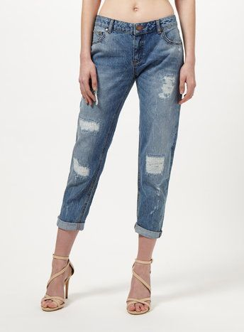 Kitty Vintage Boyfriend Jeans: