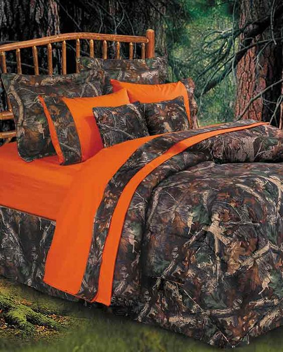 "Camouflage Comforter Set from the ""Oak Camo"" Collection - Housewares"