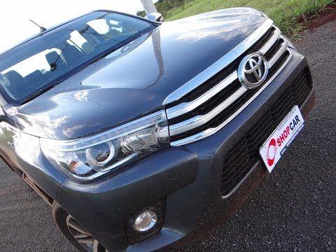 #semcortes Avaliação Toyota Hilux SRX 2016
