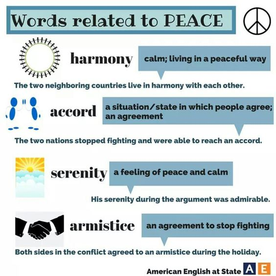 Who has best spoken the language of Peace?