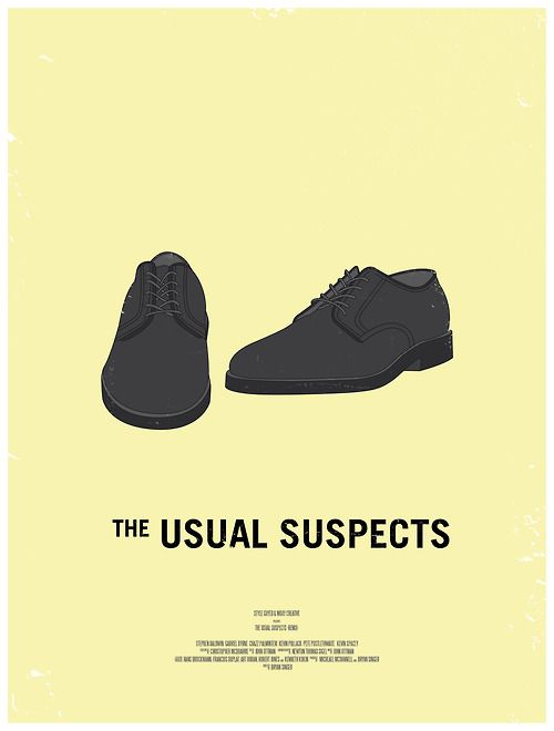 """The Usual Suspects. """"The greatest trick the Devil ever pulled was convincing the world he didn't exist."""""""