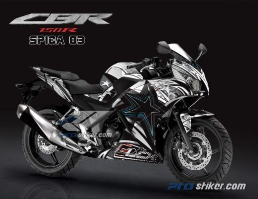 Gambar Motor Cbr 150 R Modifikasi Striping Cbr 150r K45 Warna Hitam Full Body Prostiker Com Download Gambar Modifikasi Honda Cbr 150 Fo Di 2020 Motor Gambar Honda