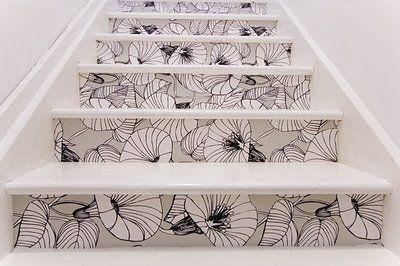 wallpaper stairs via charlotteannette_blogspot