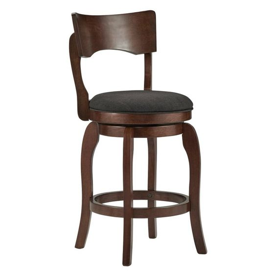 Homelegance 24 in. Swivel Armless Counter Stool