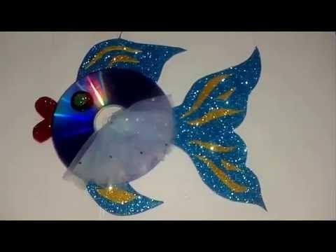عمل سمكة بالورق الملون للاطفال Make A Paper A Fish اشغال يدوية Youtube Origami Crafts Paper Crafts Paper Fish