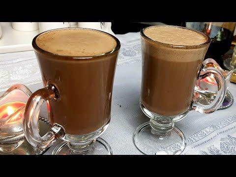 مشروب الموكا الساخن محضرة في 5 دقائق Youtube Coffee Drink Recipes Food Desserts