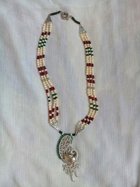 نموذج 1418 عقدmodel 1418 Necklace Best Jewelry Stores Buying Jewelry Beaded Necklace