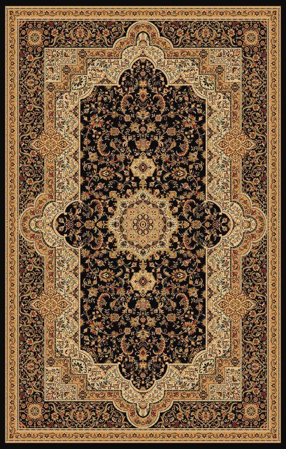 brown wool braided rug