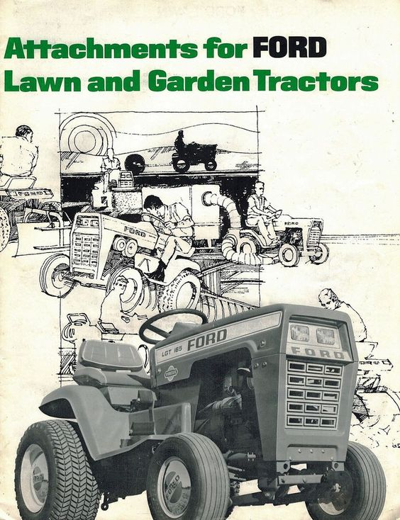 Tractors  Lawn And Ford On Pinterest