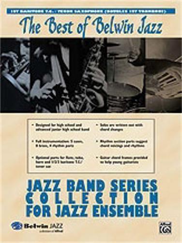 nice Alfred Better of Belwin Jazz: Jazz Band Assortment for Jazz Ensemble (Baritone Horn)
