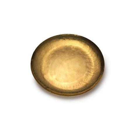 Large Japanese Brass Dish