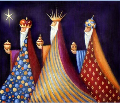 Three Kings Cards | ... Oakley, Advocate art, illustration agency, Greetings cards. 3 kings:
