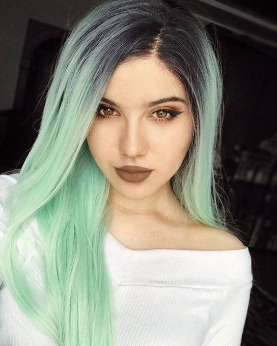 Galway Green Mint Synthetic Lace Front Wig