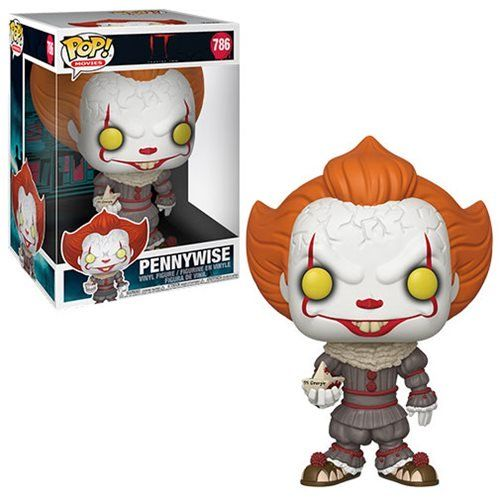 Buy It Chapter 2 Pennywise With Boat 10 Inch Pop Vinyl Figure At Entertainment Earth Mint Condition Guaranteed Free Sh In 2020 Vinyl Figures Pop Figurine Pennywise