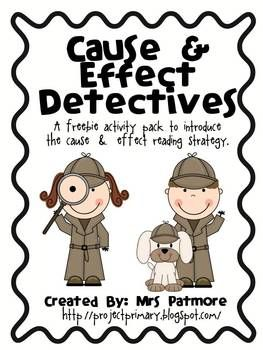 Cause & Effect Detectives Freebie
