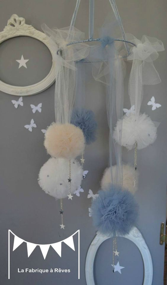 communion miya deco communion and more mobiles tulle album decoration ...