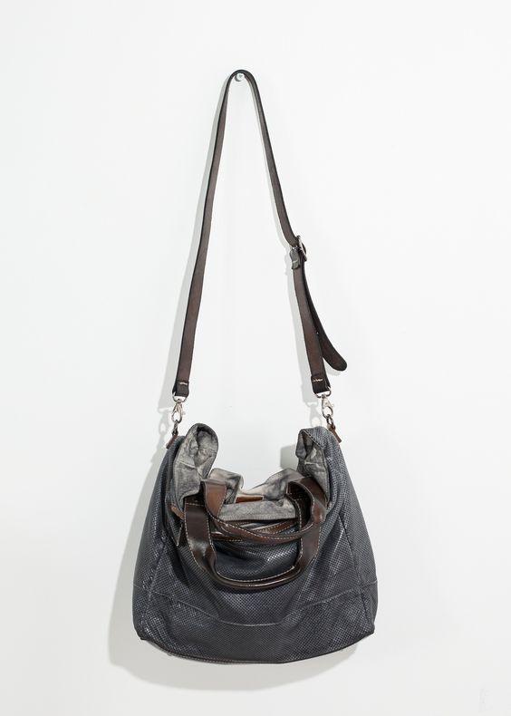 Livingston Bag in Anthracite