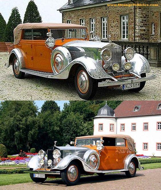 1934 ROLL ROYCE PHANTOM II - WORLDS MOST EXPENSIVE CAR