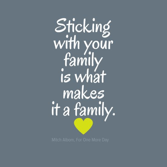 Yes this is a good thought!!! Love my family so much...(hope they know it lol)…