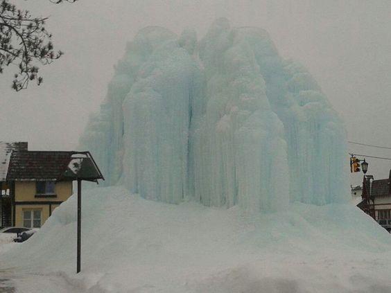Ice mountain.