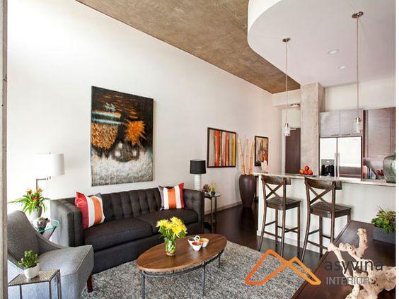 Asyvina sẽ mang thiết kế phòng khách chung cư 60m2 sang trọng, hiện đại đầy thẩm mỹ. Liên hệ để nhận ưu đãi giảm giá thiết kế đến 50%.