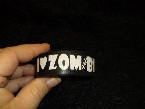 new black and white zombie rubber Bracelets fashion jewelry stretch undead