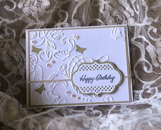 Handmade Greeting Card: Handmade card Birthday by WallridgeFarm