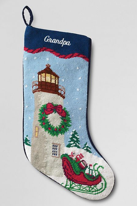 stockings  land u0026 39 s end and christmas stockings on pinterest