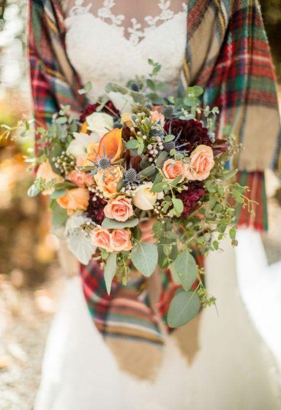 Jesienne Dekoracje Weselne Jesienna Panna Mloda Fall Wedding Winter Wedding Colors Plaid Wedding