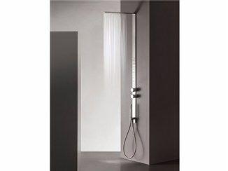 Coluna de duche de parede de aço inox MILANOSLIM | Coluna de duche - Fantini Rubinetti