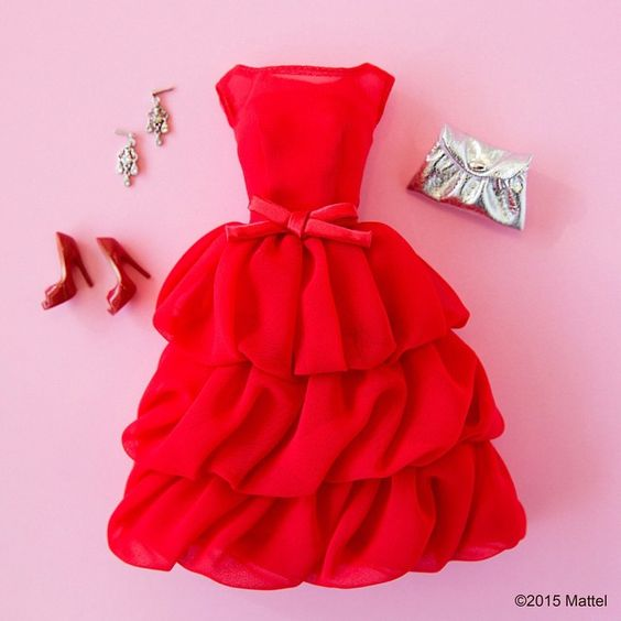 Love getting dressed up on a Friday night! ❤️ #barbie #barbiestyle