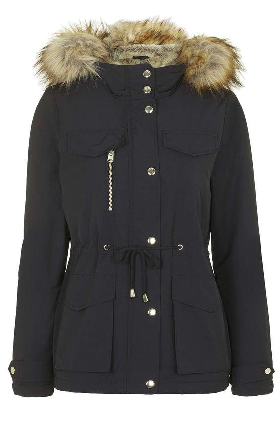 Top Shop Parka Coats