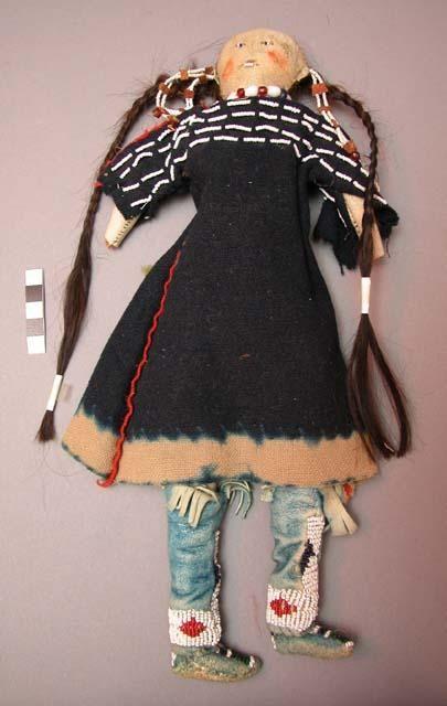 Cheyenne woman doll.: