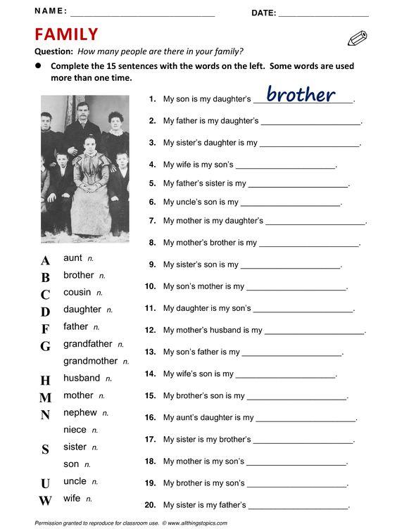 Dating vocabulary esl