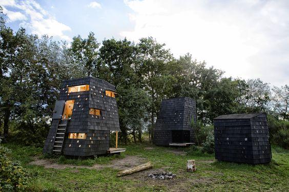 Refugios junto al Mar - Blue Landmarks / LUMO Architects