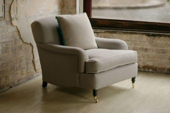 The Albert Armchair  Original finish- ? our bedroom