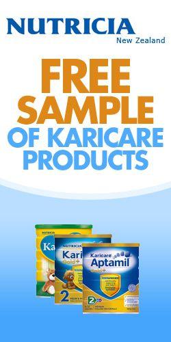 Free Sample of Karicare Products #freebabyfood #Karicare