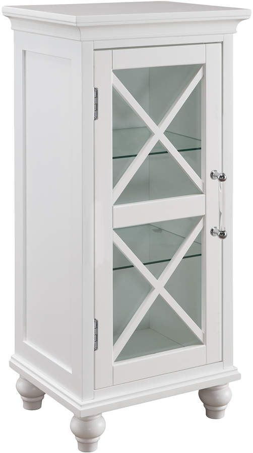 Elegant Home Fashions 1 Door Ridge Floor Cabinet Affiliatelink Available Colors White Available Sizes 1 Door Ridge Floor Cabinet Enginee Elegant Homes House Styles Tempered Glass Shelves