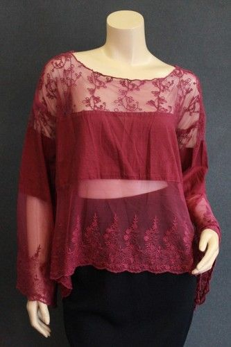 Free People Sheer Lace 30-8213