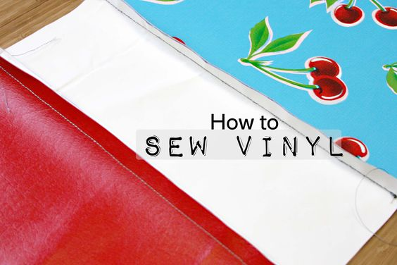 How to Sew Vinyl, Faux Leather, and Oilcloth